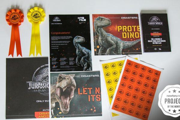 Jurassic World Resource Pack Printing