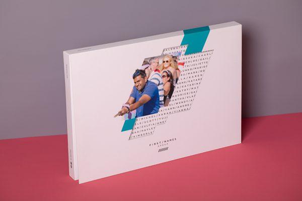 Custom brochure presentation box