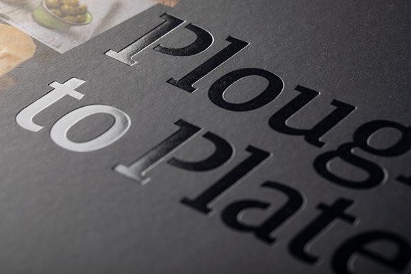 Clear foil block printing