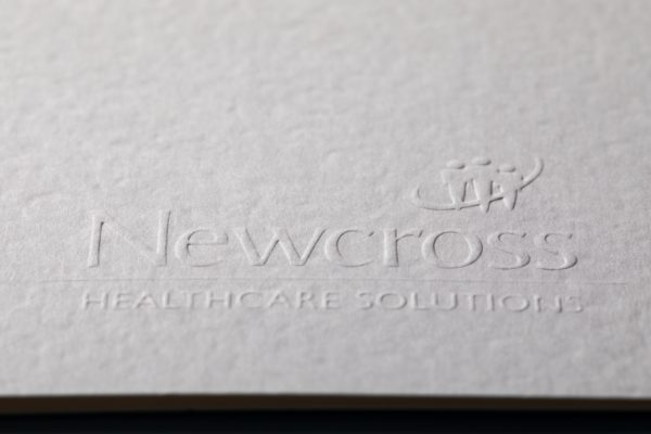 Embossed printing services on embossed paper
