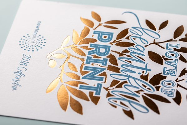 Hot Foil Printing with Newton Print