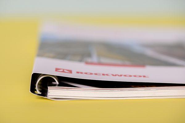 Half Canadian Binding - bound books