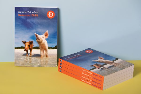 PUR perfect bound brochure printing