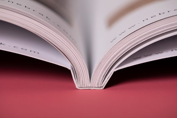 PUR perfect bound book printing with Newton Print