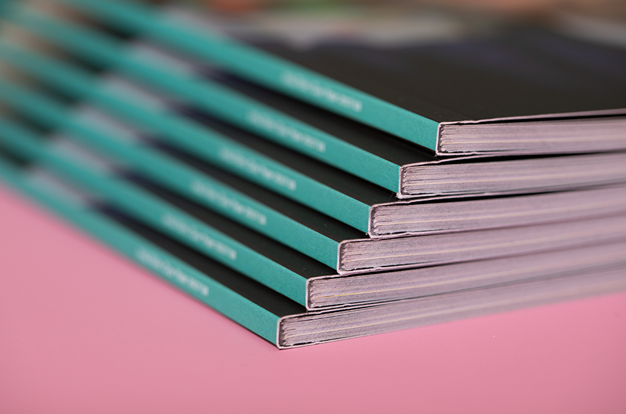 PUR perfect bound booklets