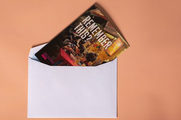 Selective Asia scented direct mail