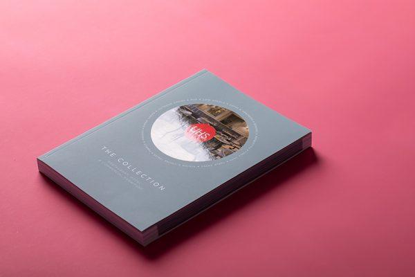 Spot gloss UV brochure printing