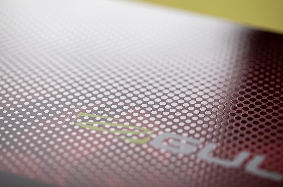 Spot UV brochure cover printing