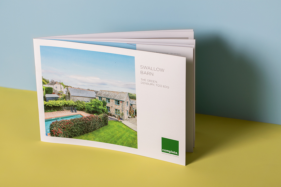 Estate Agent and Property Brochure Printing - Newton Print