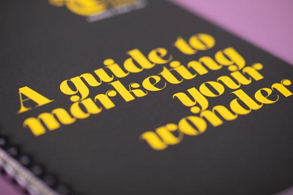 Trinity Leeds wiro brochure printing