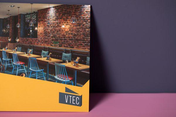 V-Tec brochure printing