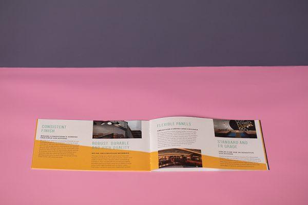 V-Tec interiors brochure printing