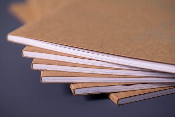 Perfect Bound YOGI Look Book with spot UV