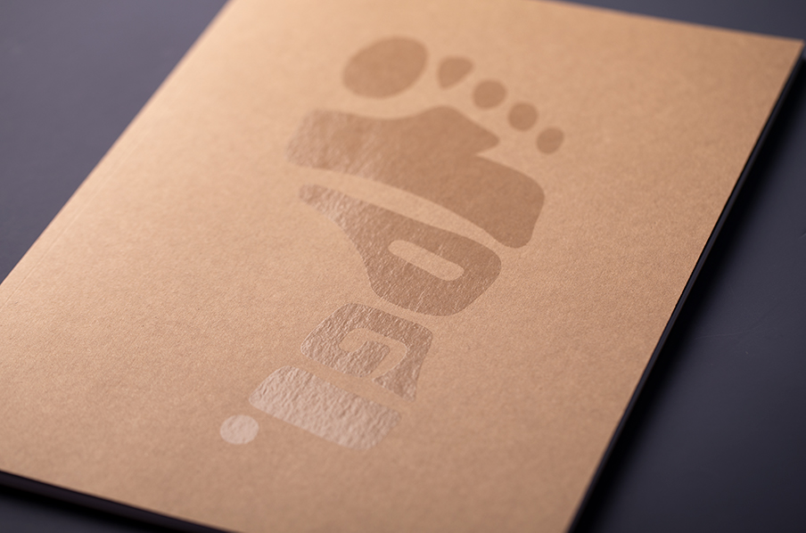YOGI Look Book perfect bound with spot gloss UV uncoated