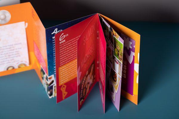 Bio Kult pop-up concertina mailer