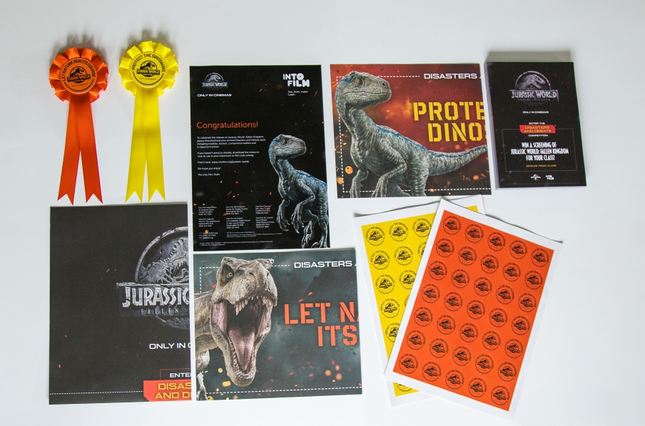 Jurassic World Film Pack Printing