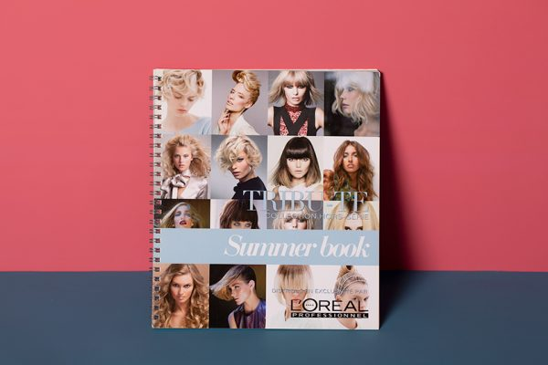 L'Oreal Look Book Printing