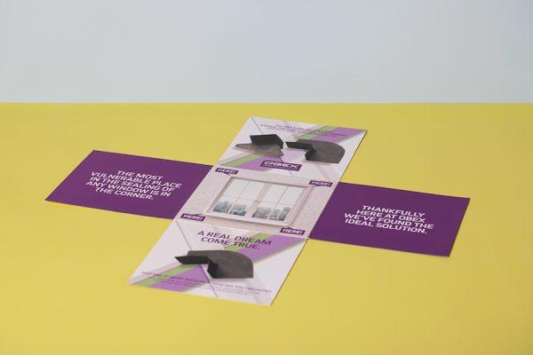 Unique Brochure Printing Design Inspiration: The Maltese Cross Leaflet