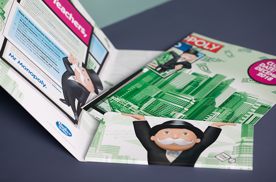 Custom Presentation Folders - Monopoly