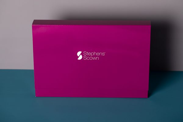 Company branded presentation folders