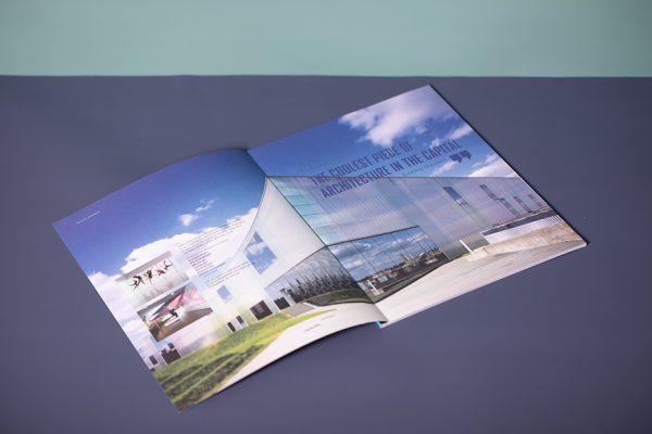 Trinity Laban award winning magazine printing