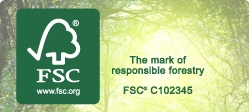 FSC Eco friendly printing services with Newton Print