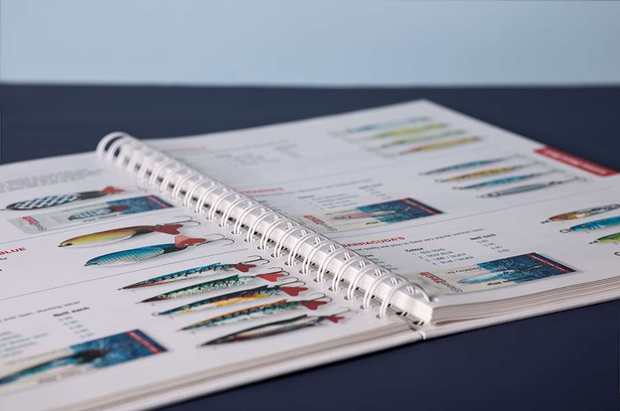 Wiro binding book printing