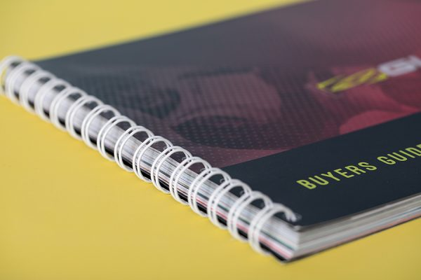 Wire bound book printing - wiro binding
