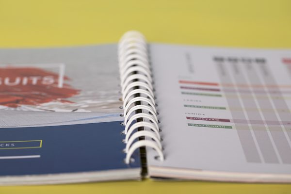 Wiro bound book