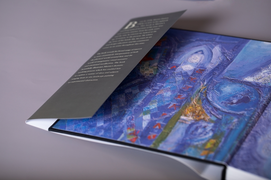 Artist Hardback Book with Foiled Cover