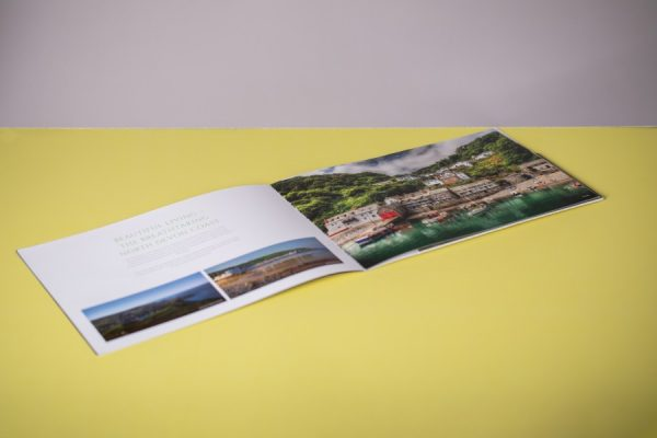 Estates Marketing Property Brochure with Spot UV and Spot Colours