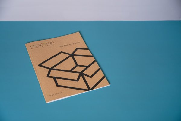 Perfect Bound PUR Brochure with Kraft Cover