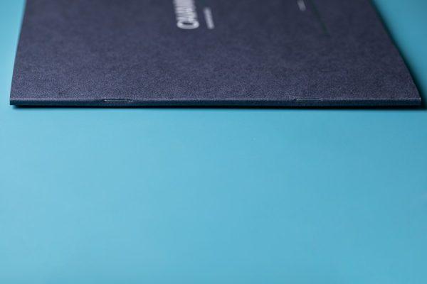 Cavanna Homes Development Brochure Foil Block Cover with Matt and Gloss UV Varnish Newton Print