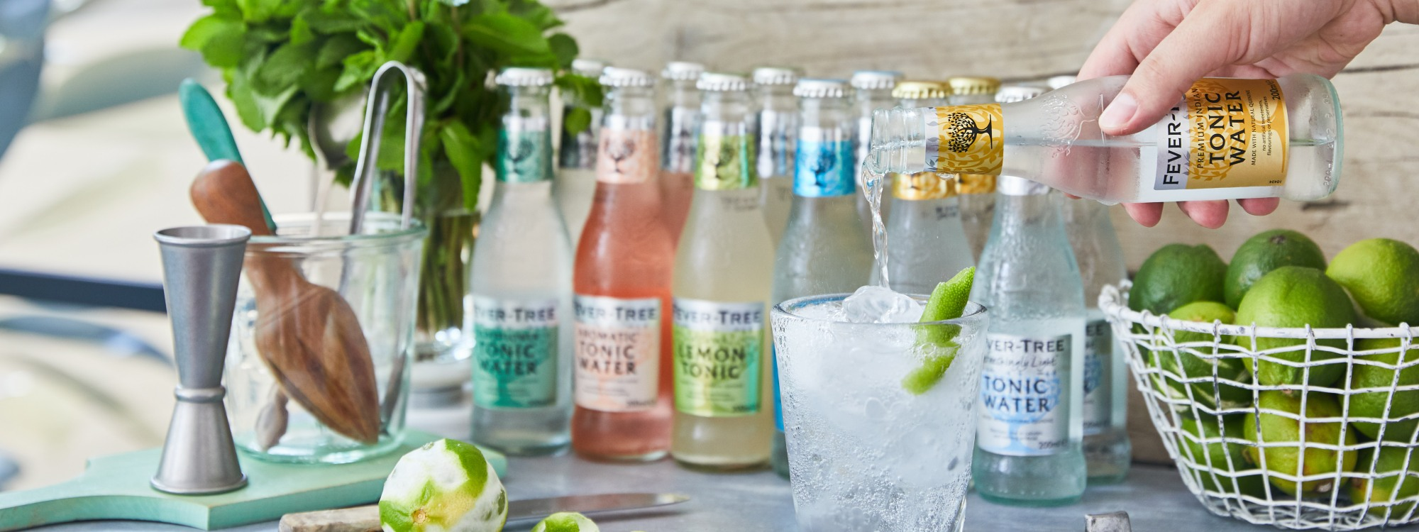 Fever-Tree: Mixing with the best