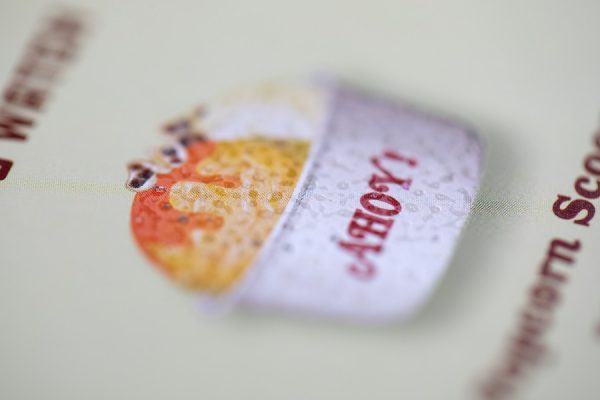 Scratch and Sniff card for Stranger Things film with 6 scents   Award-Winning Project of the Month   Newton Print