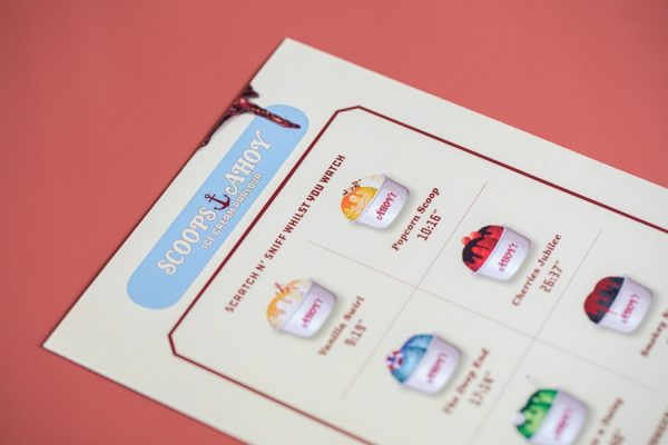 Scratch and Sniff scented card with 6 scents   Award-Winning Project of the Month   Newton Print