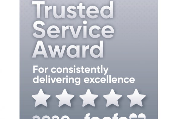 Feefo Award Platinum Trusted Service Winners Newton Print