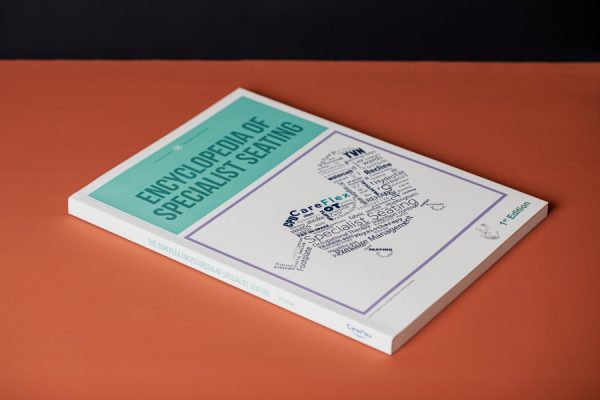 Thread sewn brochure for Careflex - Newton Print Project of the Month