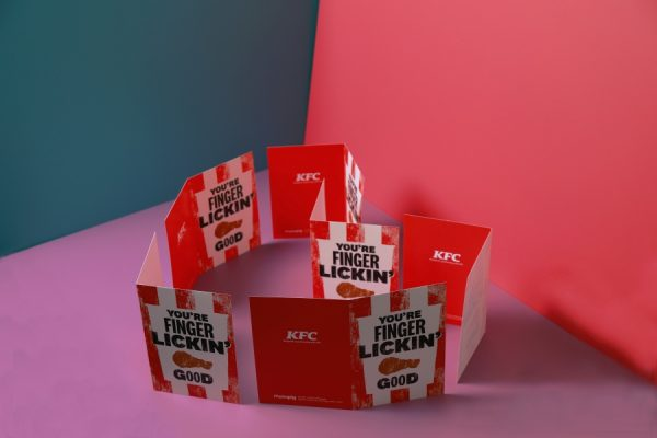 KFC Scratch and Sniff Greetings Cards for Moonpig by Newton Print