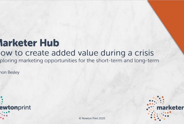 Marketer Hub webinar Creating Value thumbnail