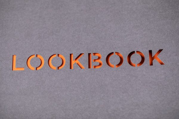 UHS Lookbook Luxury Brochure with Laser Cutting Spot Colours - Newton Print