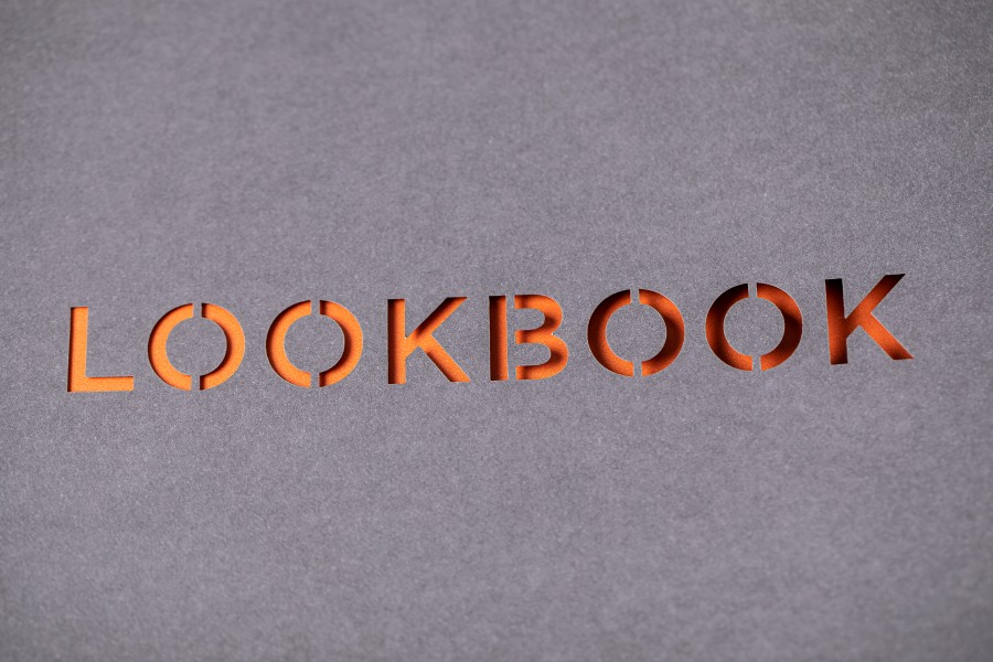 Laser cut printing for UHS Look Book