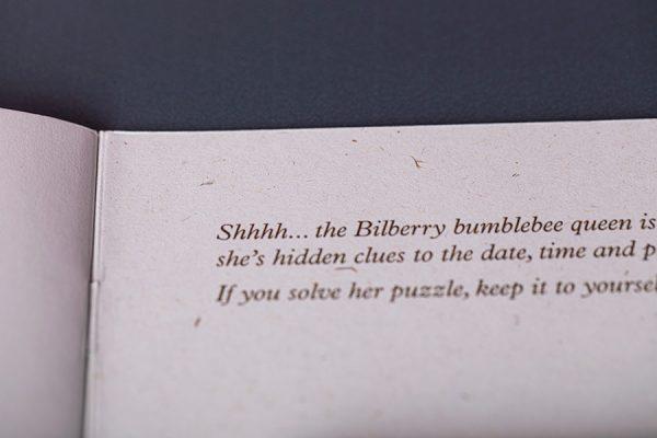 Bumblebee Trust Die Cut Brochures with Pockets