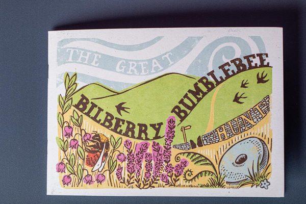 Bumblebee Trust Die Cut Pocket Brochure