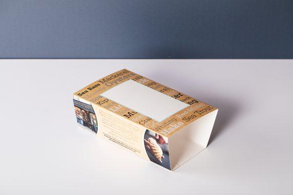 Short run custom printed food sleeves and packaging with Newton Print