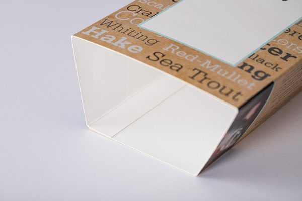 Cardboard sleeve food packaging by Newton Print