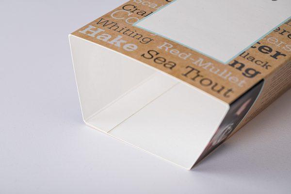 Cardboard sleeves for food packaging by Newton Print