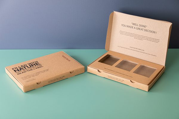 Kraft Recycled Eco Friendly Soap Packaging Printing by Newton Print