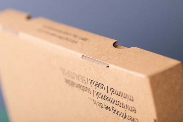 Eco friendly recycled cardboard food packaging printing UK with Newton Print