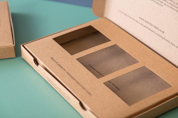 Eco Friendly short run custom food packaging UK with Newton Print